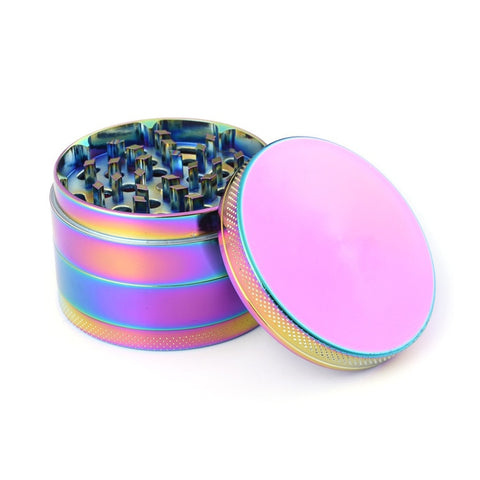 Herb Weed Grinder Tobacco Cigarettes 50mm 4Parts Zinc Alloy