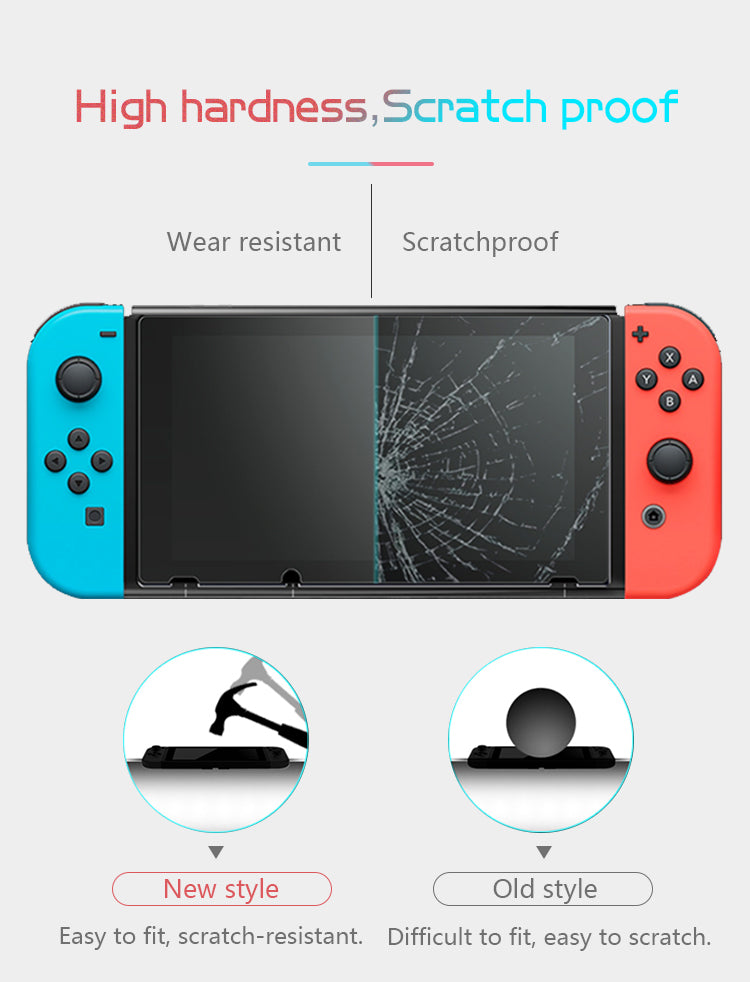 Data Frog Premium Tempered Glass Screen Protector For Nintendo Switch NS Screen Protector For Nintend Switch Lite