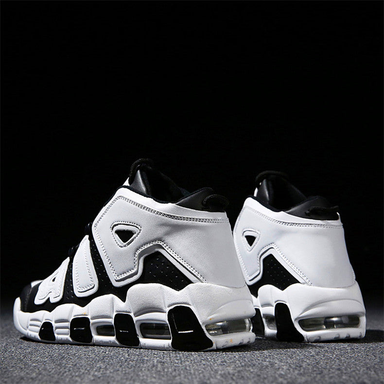 Exquisite high-top basketball shoes super fiber