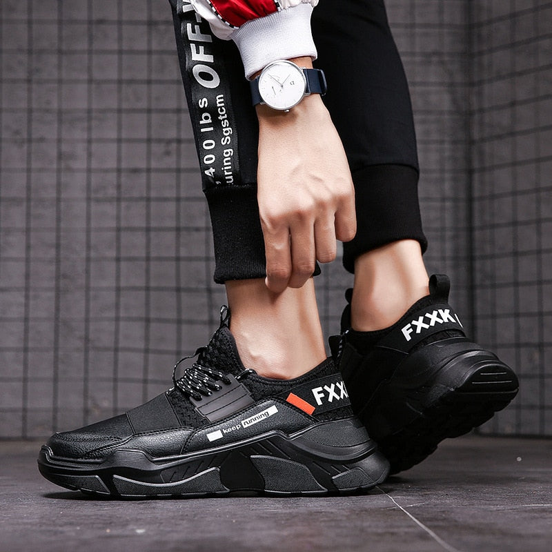 2019 Fashion Men Outdoor Knitted Uppers