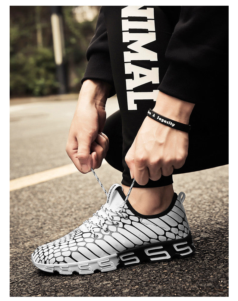 New men's camouflage mesh breathable sneakers