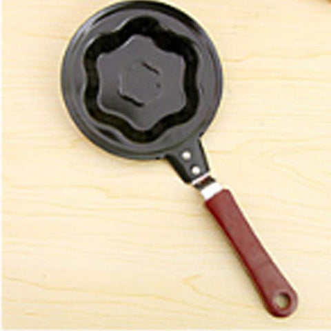 Cute Shaped Egg Mould Pans Nonstick Stainless Mini Breakfast Egg Frying Pans Cooking Tools