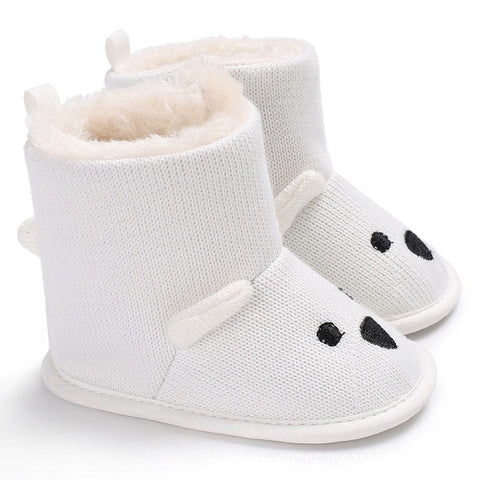 Baby Winter Boots Infant Toddler Newborn Cute Cartoon Bear Shoes Girls Boys