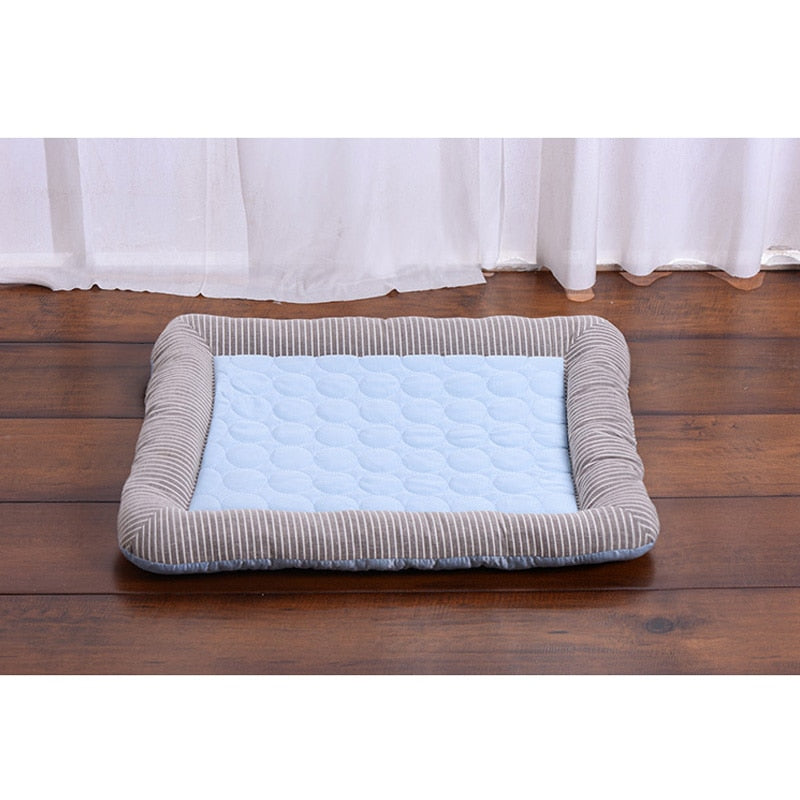 New summer pet pretty mat cooling blanket for dog bed