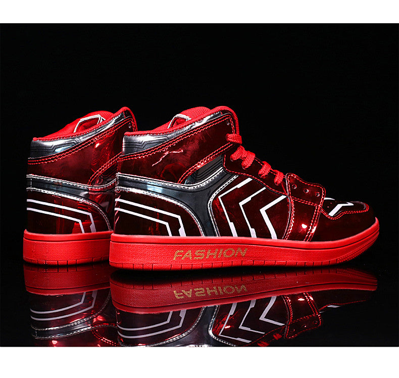 High-top lovers shoes new men's
