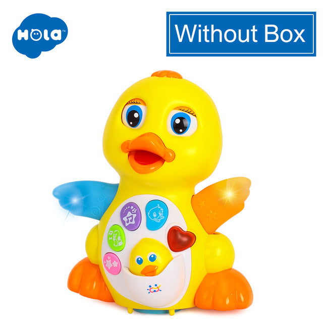 Dancing & Singing Duck Toy, Intellectual Musical and Learning Educational Toy Best Gift