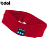 Image of Speaker Bluetooth Music Headband Knits Sleeping Headwear Headphone Speaker Headset