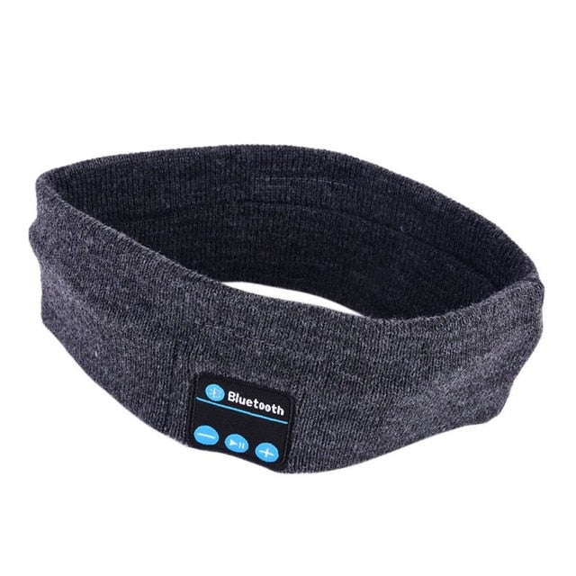 Speaker Bluetooth Music Headband Knits Sleeping Headwear Headphone Speaker Headset