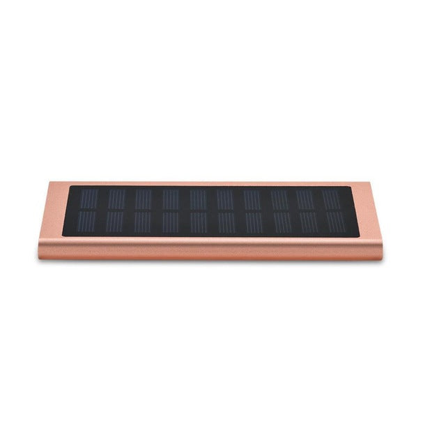 30000mAh Solar Power Bank Dual USB Slim Alloy Portable LED Lighting Solar-powered External Battery For Samsung Xiaomi iPhone
