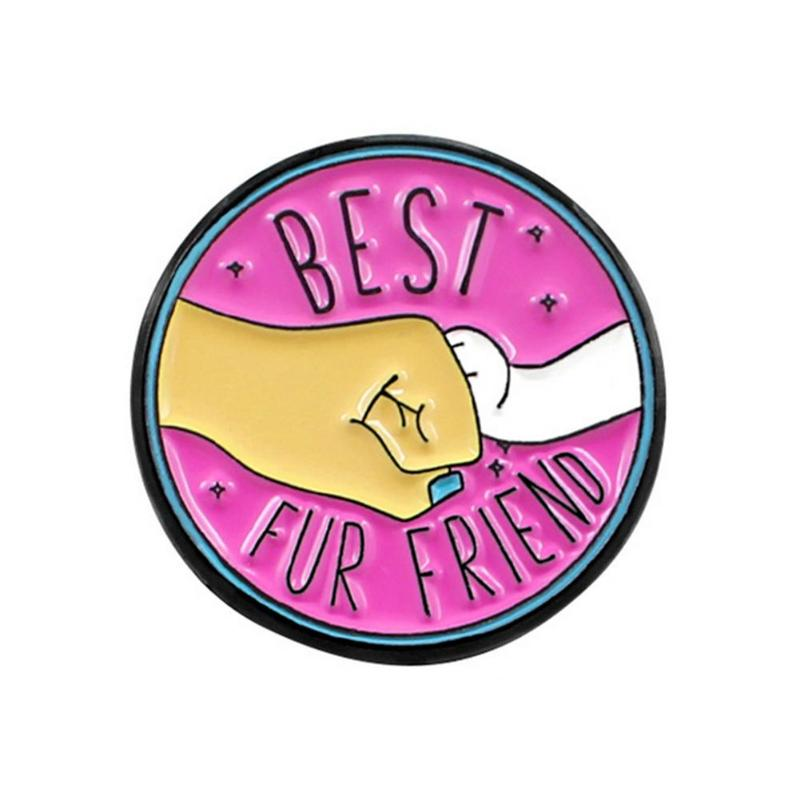 BEST FUR FRIEND ENAMEL PIN