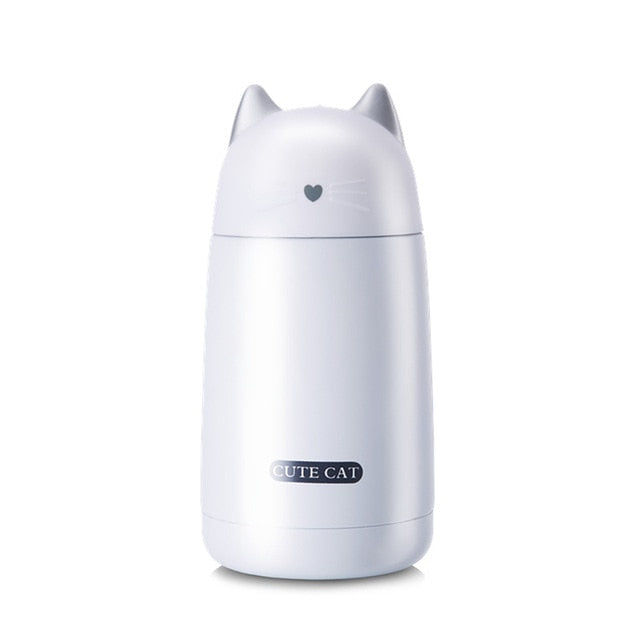 Cute Kitty Thermos Mug
