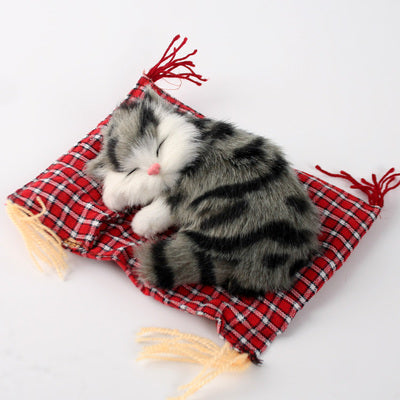 Cutest Sleeping Kitten Toy