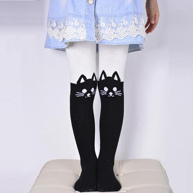 Cat Pantyhose For Girls