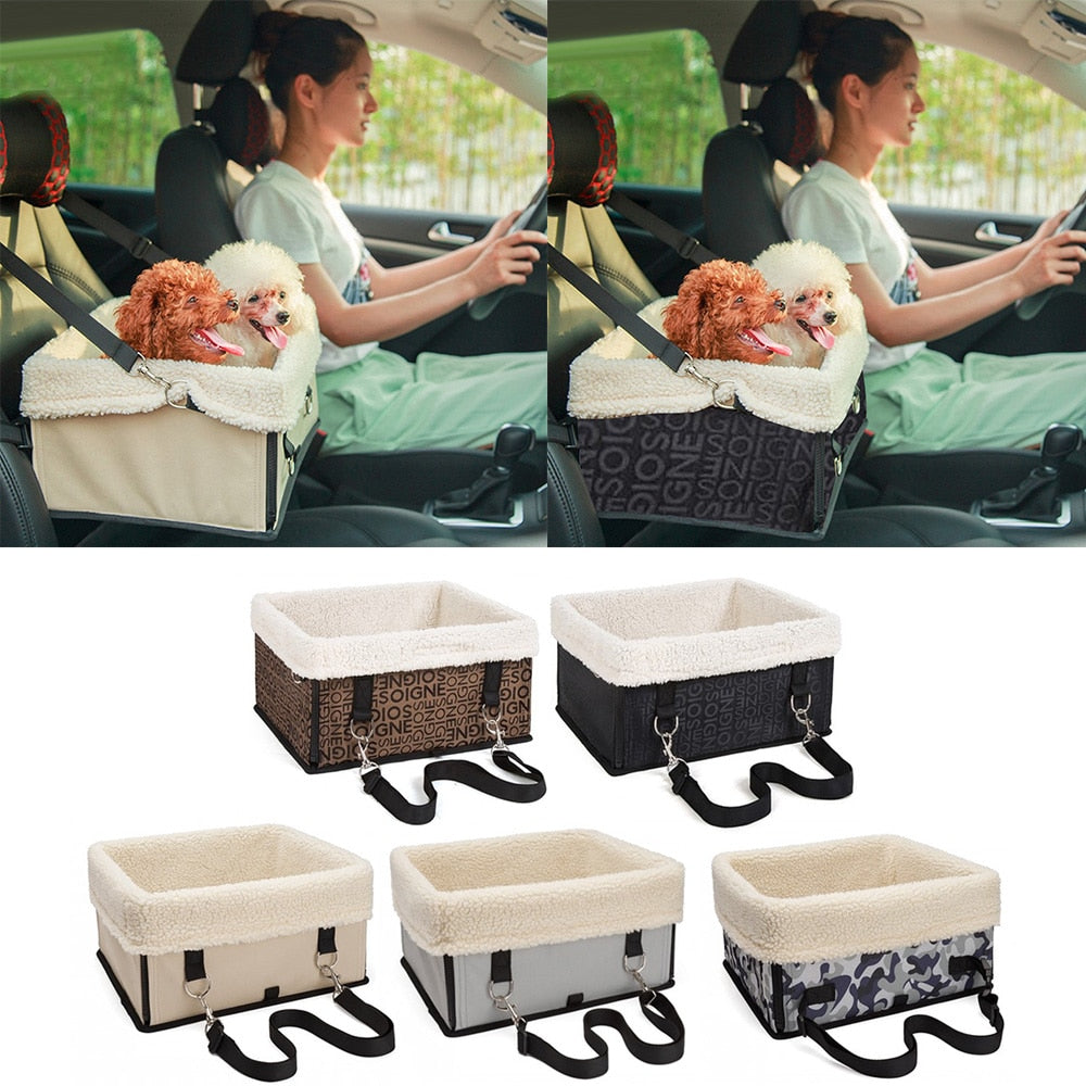 Behogar Portable Foldable Washable Warm Pet Car