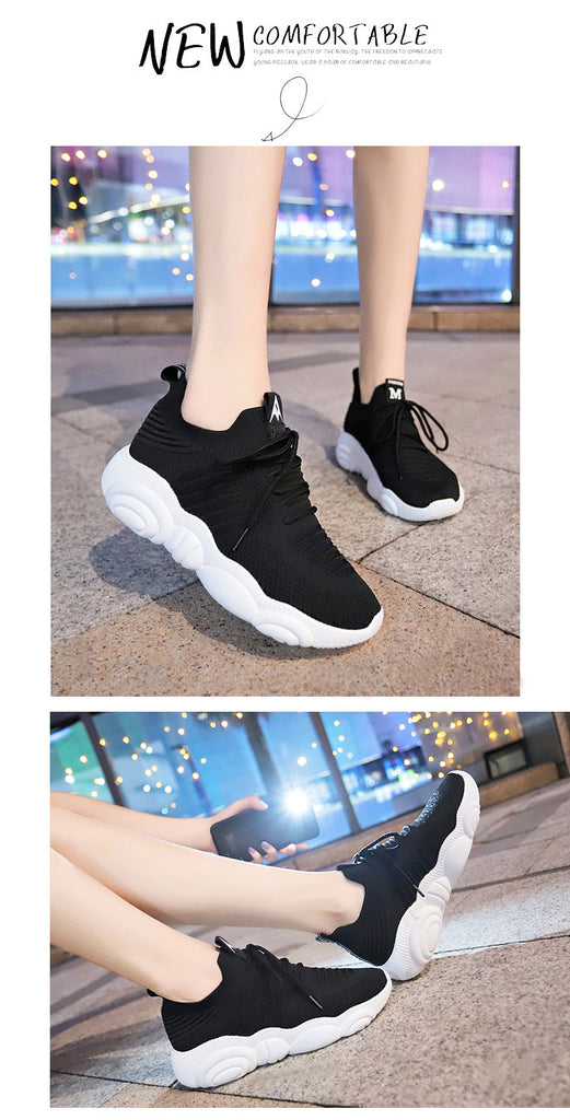 New Shoes Woman 2019 Platform Sneakers