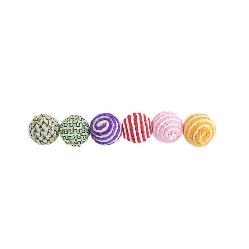 Sisal Rope Woven Ball Cat Toy