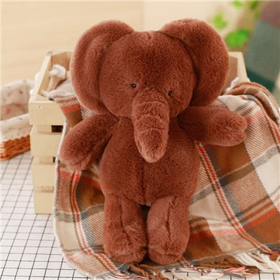 Huggable and Super Cute Stuffed Animal - Soft for pets Elephant Bedtime Plush Doll Toy
