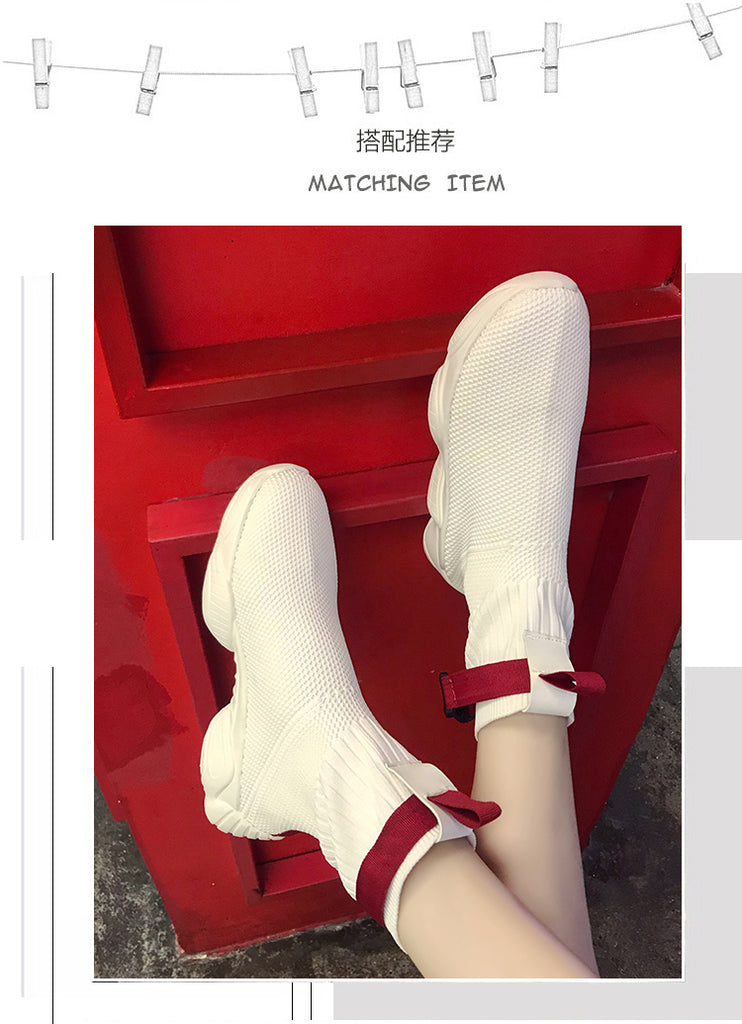 2019 Summer Clunky Sneakers Women