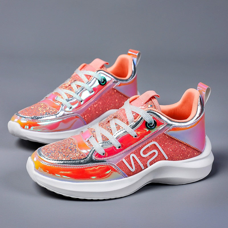 Light jogging female sports shoes breathable