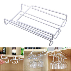 Wine Glass Rack Stainless Steel Hanging Stemware Holder