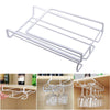 Image of Wine Glass Rack Stainless Steel Hanging Stemware Holder