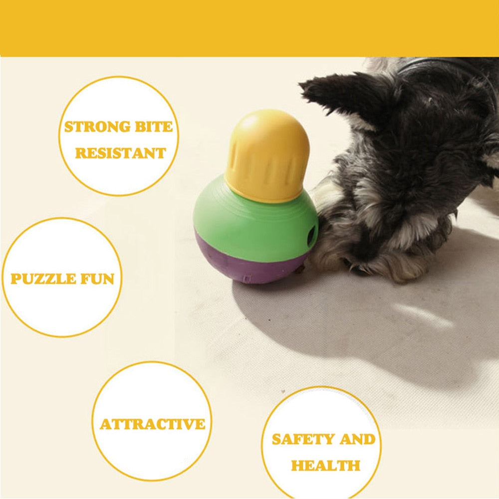 Hoopet Dog Toy Feeding Ball Leakage Food Can Carry Dog Food Snacks
