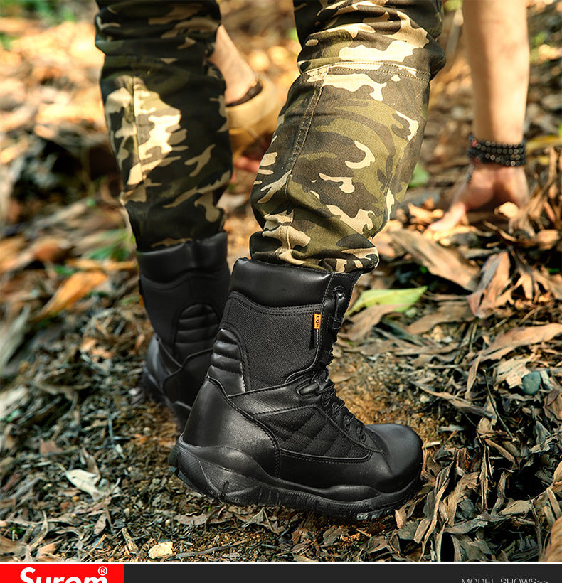 SUROM Camping Tactical Boots Outdoor