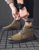 Image of Trend men's casual shoes high-top sneakers