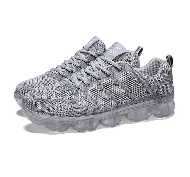 Fashion men's flying woven jelly sneakers