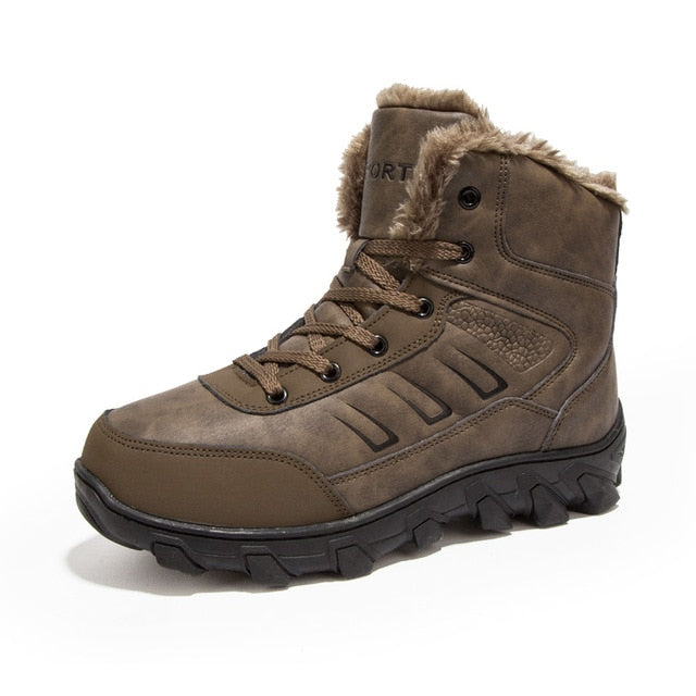 Mens Mountain Hiking Boots Waterproof