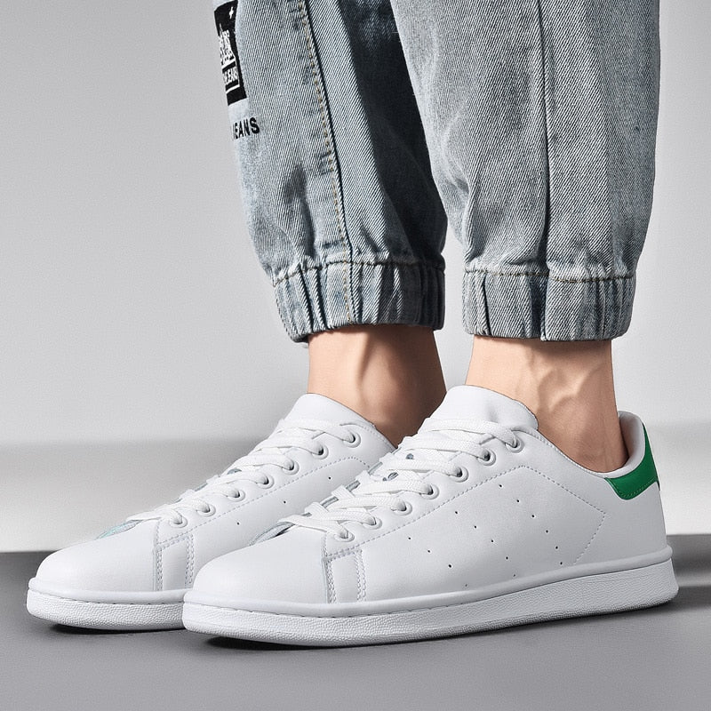 Spring White Casual Shoes Men