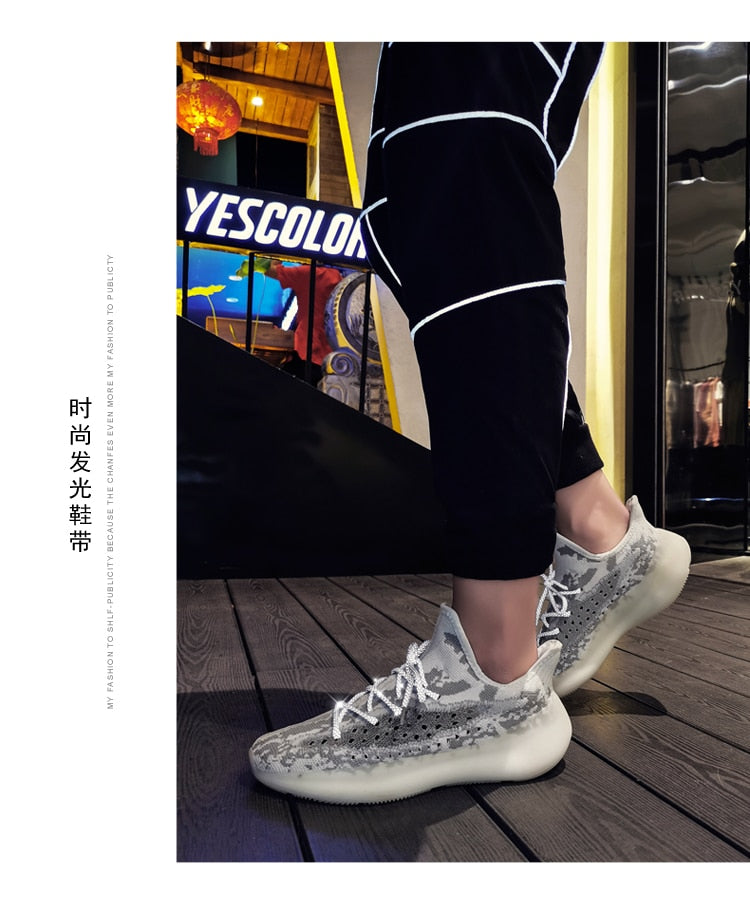 Breathable Lightweight Yeezy Boost 350 V3