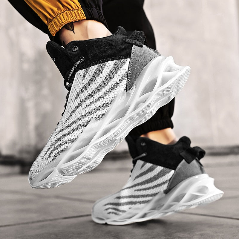 2020 New Trend Blade Sports Shoes Mens Basketball Shoes Men Casual Male Sneakers Zapatos De Mujer Hombre Plus Size 46 Zapatillas
