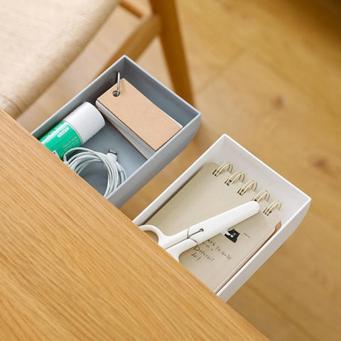 Hidden Table Under Paste Plastic Desk Organizer Memo
