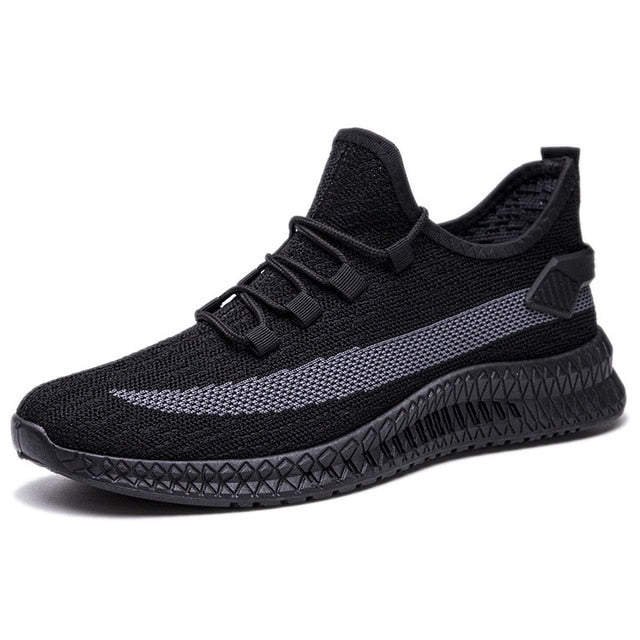 Men Casual Shoes Light Running Gym Jogger Shoes Men's Sneakers Breathable Wear-resistant Outdoor Walking Men Sport Shoes Lace Up