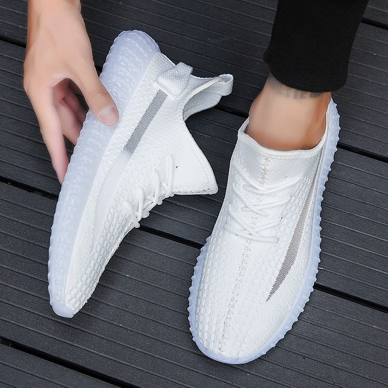 2020 spring new autumn men's shoes Korean trend running shoes casual sports shoes coconut tide shoes small white shoes