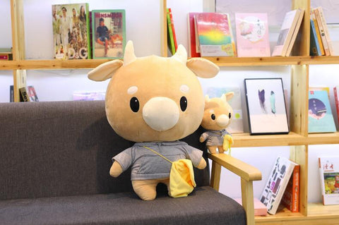 What's Wrong With Secretary Kim Hard Working Caw Pet Doll Plush Korean Drama Cow Stuffed Child Kid Toy Birthday Gift