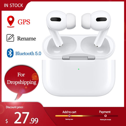 Auriculares Air Pro 3 TWS Wireless Bluetooth Earphone Headset Smart Touch Air Earbuds With Charging Case Blackpods Pro 3 Fone