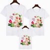 Image of Cartoon print family matching clothes T-shirt mom and me clothes happy mother's day TShirt 2020 mother's day gift Harajuku shirt