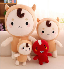 buckwheat Red Bean coreano version Korean ghost drama TV Bed Sofa Doll Plush Stuffed Sleeping Baby Child Toy Gift pillow