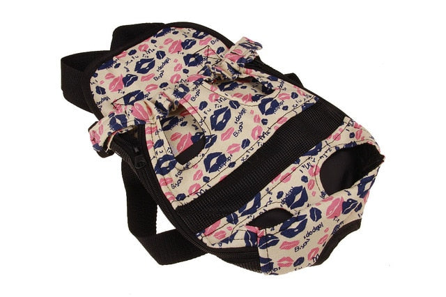 Adjustable Denim Front Carrier/Bag for small dogs