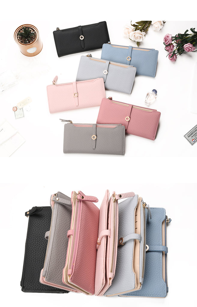 Long Women Wallet Fashion Holders Carteras