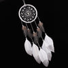 Image of Handmade Silver Bead Dream Catcher Style Car Hanging Decoration