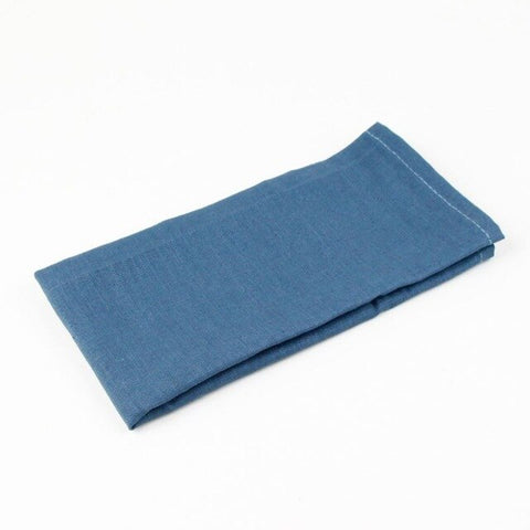New 30x40cm Slub cotton Linen Napkins placemat heat insulation mat dining table mat kids