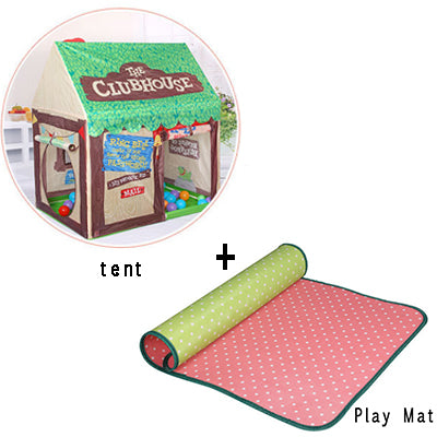 Kids Play Toys Tent Foldable Portable Baby Princess Castle Indoor Outdoor
