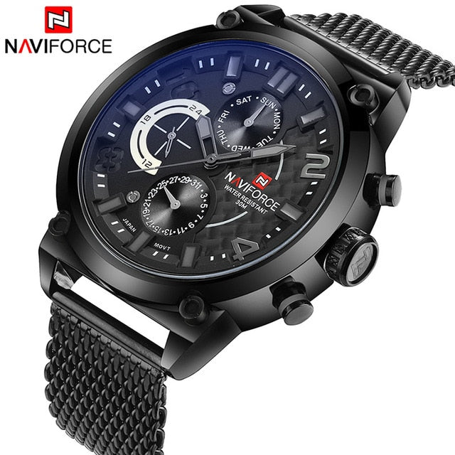 NAVIFORCE NF9068 Male Quartz Watch