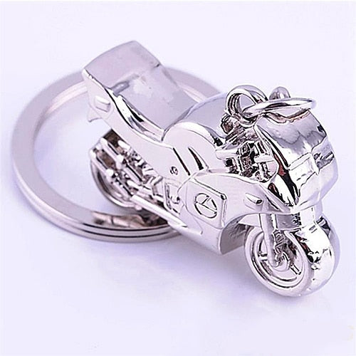 Fashion Men Cool Motorcycle Pendant Alloy Keychain Car Key Ring Key Chain Gift
