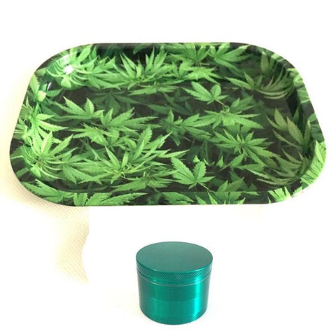 MINI 18CM ROLLING TRAY TOBACCO STORAGE PLATE DISCS FOR SMOKE GREEN WEED HERB GRINDER WATER PIPE HOOKAH SHISHA GLASS