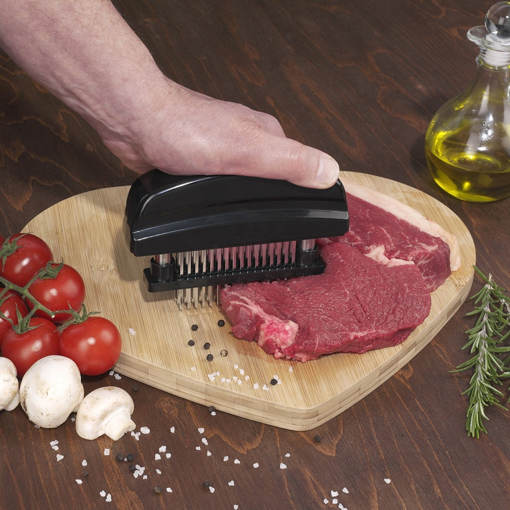 48 Blades Needle Meat Tenderizer Stainless Steel Knife Meat Beaf Steak Mallet