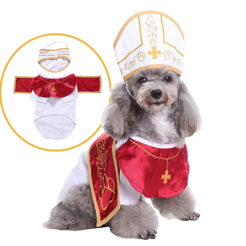 The New Godfather Cosplay Pet Costume for Dog Role Play Dressing Up Party